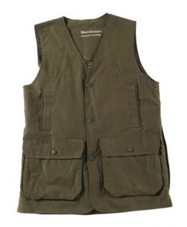 DEERHUNTER Daytona Classic Shooting Waistcoat Vest Cartridge Pockets,Game Pouch